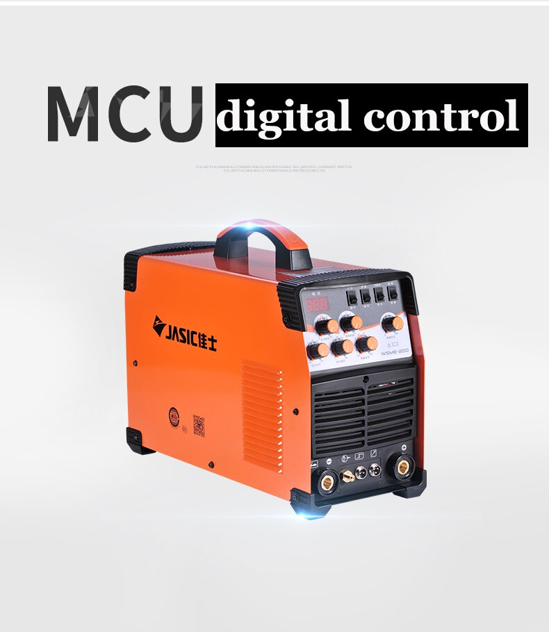 WSME-200 TIG-200 TIG-200P AC DC Pulse TIG Welder Welding Machine Aluminium 220V High precision