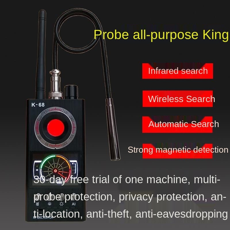 K68gps Signal Detector Anti Monitoring Positioning Shielding Anti Candid Detector Detects Mortgage Car Anti Tracker