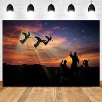 christian nativity scene birth of jesus angel photography backdrops photographic background photozone photophone photo studio