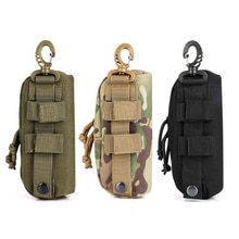 Outdoor Hunting Sunglasses Case Military Molle Pouch Goggles Storage Box Nylon
