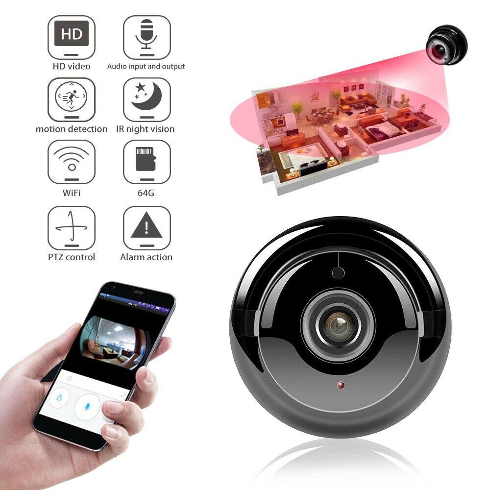 HD 1080P Wifi мини камера V380 мини беспроводная домашняя видеокамера Домашняя безопасность ИК CCTV ночное видение Обнаружение движения