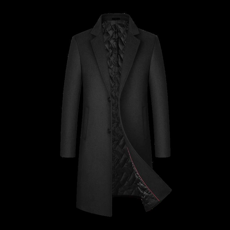 Шерстяное 54.3%, длинное мужское пальто, Мужское пальто, зимнее пальто для мужчин, длинное мужское пальто, мужское пальто, шерстяное пальто, му...