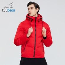 ICEbear 2019 New Winter Thick Warm Men's Jacket Stylish Casual Men's Coat Brand Clothing MWD19617I