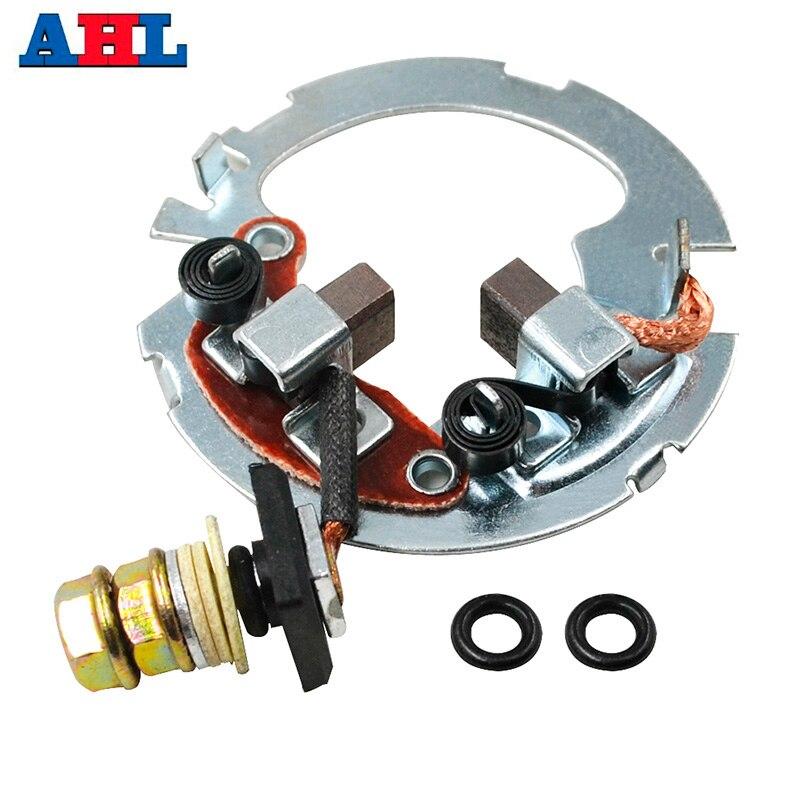 Motorcycle Starter Repair Brush Plate Rebuild Kit For HONDA TRX250EX TRX250TE TRX250X TRX300FW TRX400FW TRX450ES TRX500FA