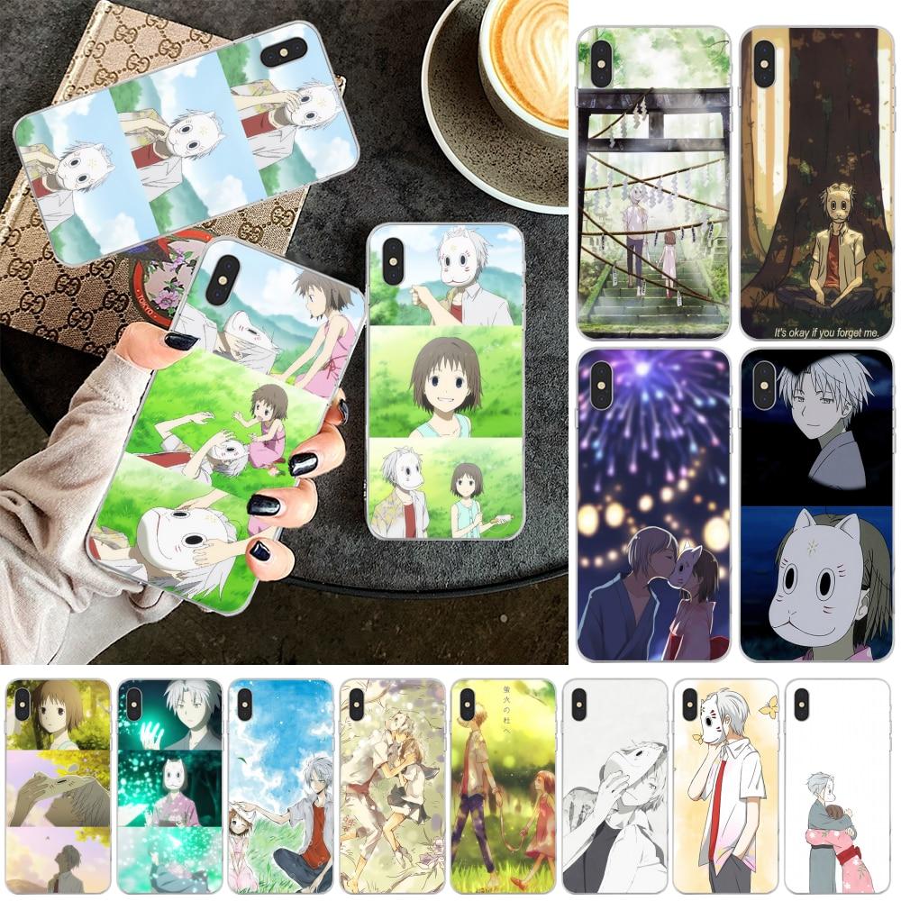 Чехол Reayou Hotarubi no mori для iPhone 11 pro XS MAX 8 7 6 6S Plus X 5 5S SE XR