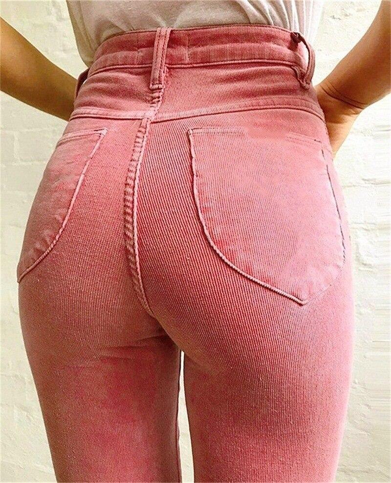 women sexy Corduroy flared pants women trousers female 2019 new high waist casual pants women autumnwinter velvet wide leg pants