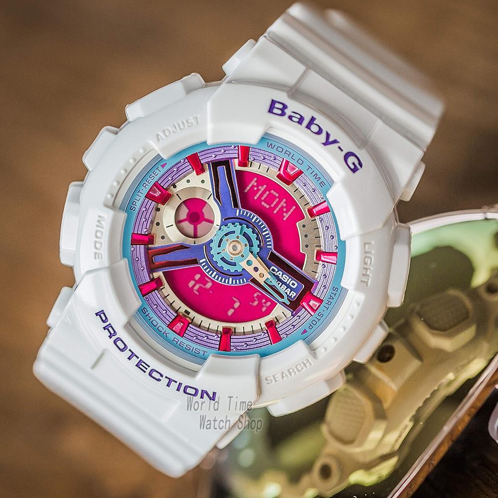 Casio watch g shock women watches top luxury set display ladies watch 100m Waterproof LED digital Quartz watch reloj mujer enlarge