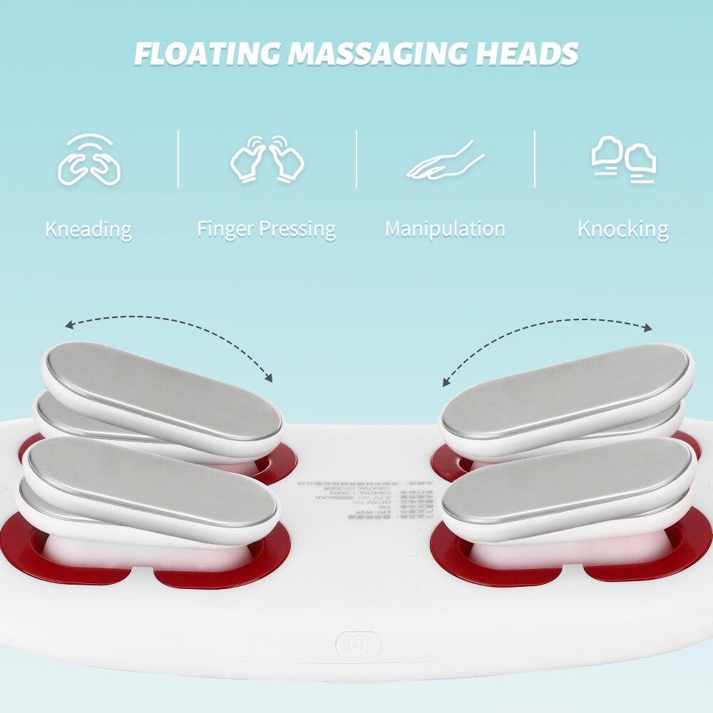 Lumbar Slim Massage Vibration heating Abdominal Massage Infrared Electric Lumbar Palace Belt Warm Relief Pain Relax Massager enlarge