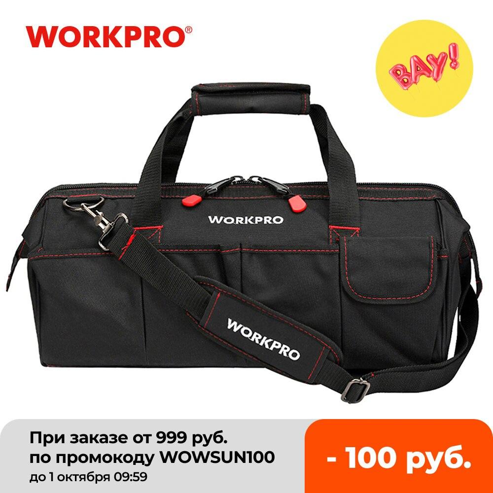 WORKPRO сумка для инструментов, Портативная водонепроницаемая сумка для хранения инструментов   Инструменты   АлиЭкспресс
