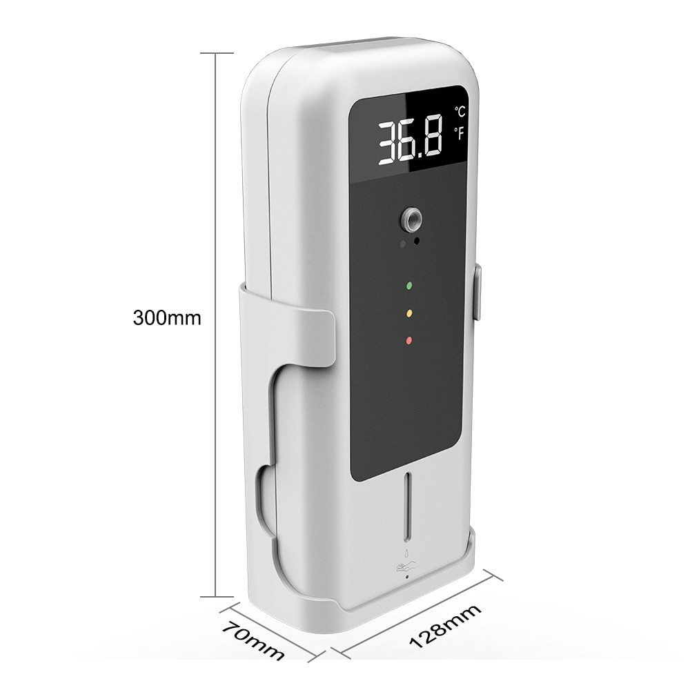 الاستشعار التلقائي دعم الأيدي غسل الحرة آلة قياس درجة الحرارة AIO