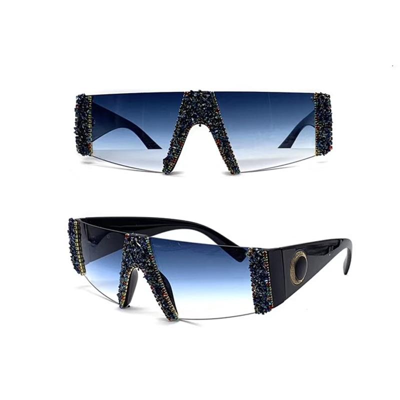 ¡Novedad de 2020! Gafas de sol de cristal para mujer, a la moda cuadradas gafas de sol, gafas Retro Vintage, gafas Unisex
