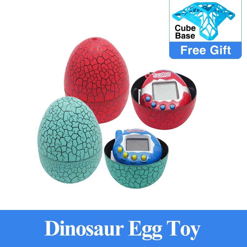 Tumbler led toys tamagochi Dinosaur egg Virtual Electronic Pet Machine Digital Electronic E-pet Retr