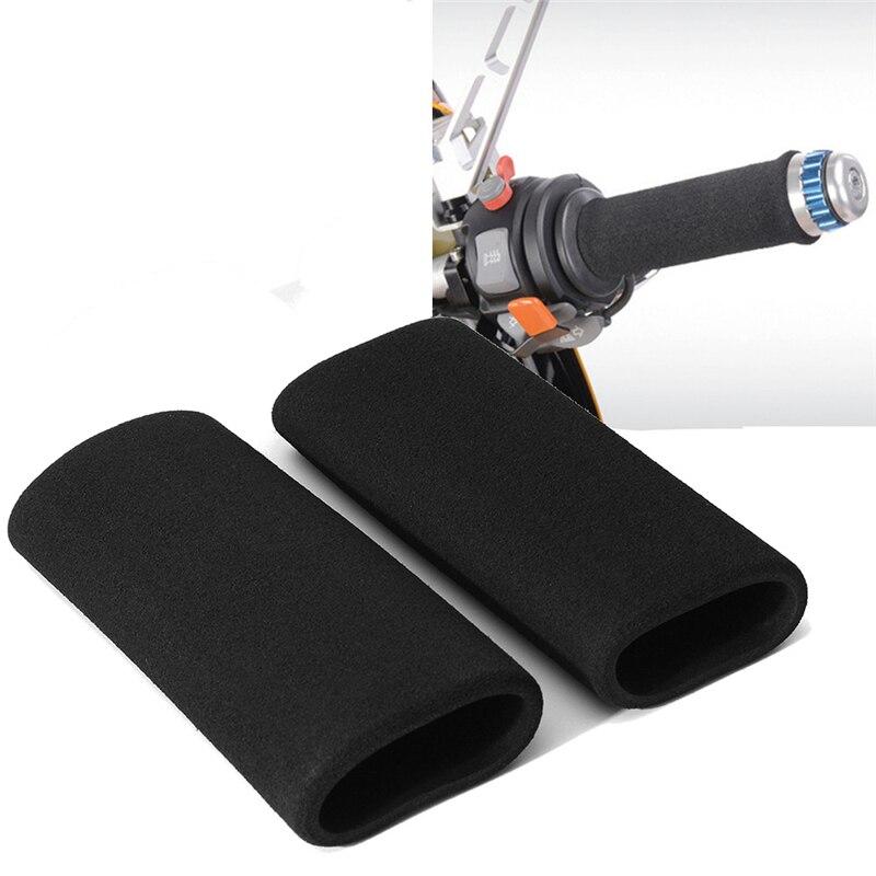 Motorcycle Bike Non-Slip Handlebar Cover Vibration-Proof Comfortable Sponge Handlebar Gloves Motorcycle Accessories