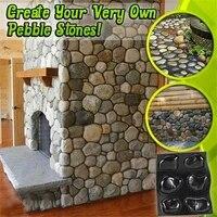 casts master pebbles concrete mold step stones plaster mold cobblestones mould plastic multi tool