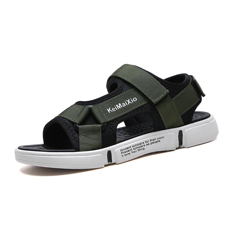New Men's Sandals Men Summer Beach Flip Flops Outdoor Non-slip Water Shoes Flat Light Casual Slippers Hombre