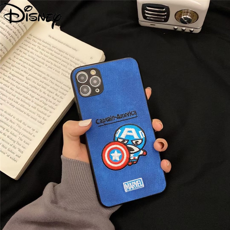 Disney phone case for iPhone12/11ProMax phone cover XR/7Plus/x/11/xsmax/12mini/couple phone case Mobile phone accessories  - buy with discount