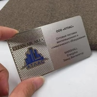 cheap 304 stainless steel metal card metal business card