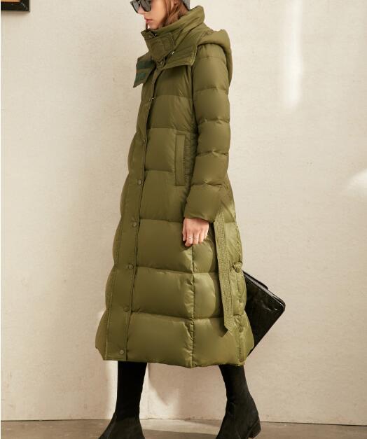 معطف شتوي للنساء, جاكيت شتوي دافئ بغطاء للرأس عدة ألوان