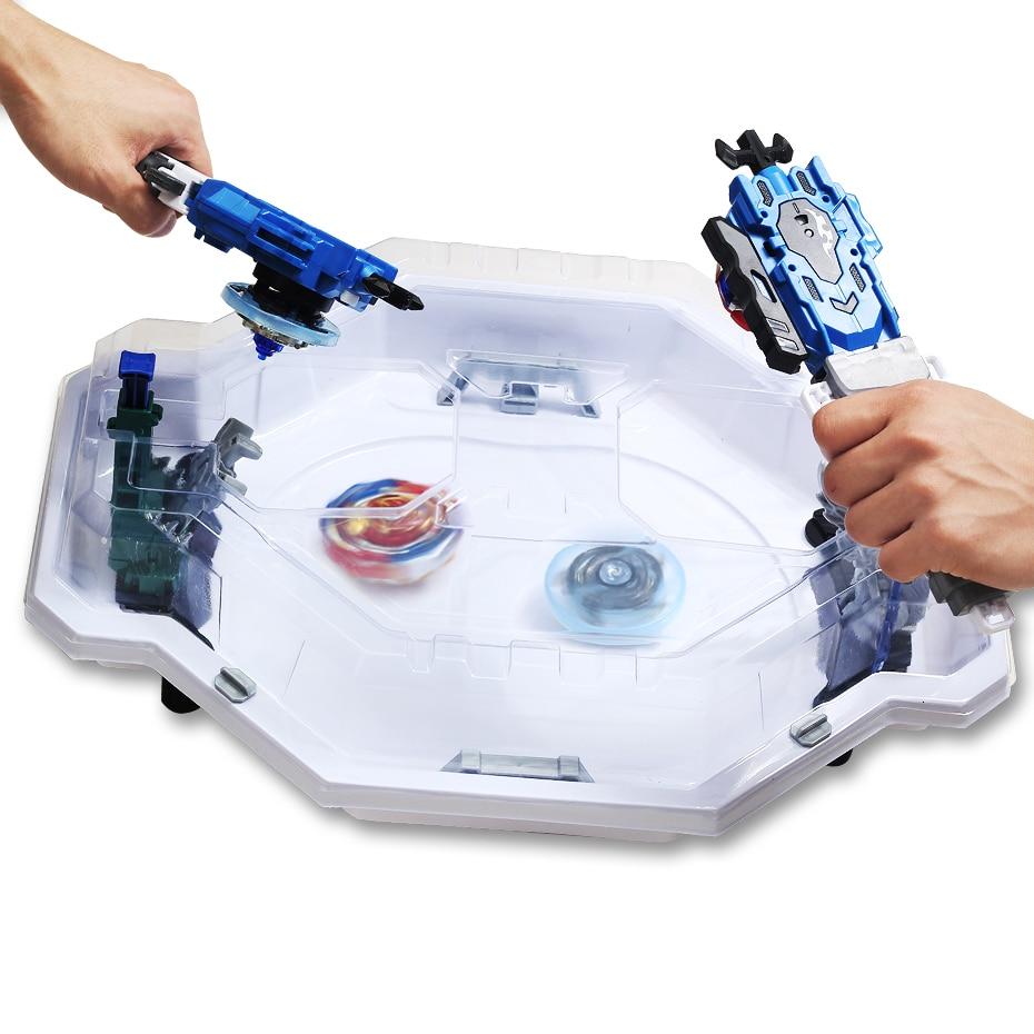 TAKARA TOMY Beyblades Burst Arena, disco móvil, duelo, Top Beyblades Rotating, lanzador, accesorios de Arena, juguete para regalo de plástico para niños