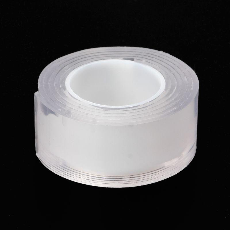Cinta adhesiva de silicona reutilizable Universal antideslizante pegatinas de pared de doble cara