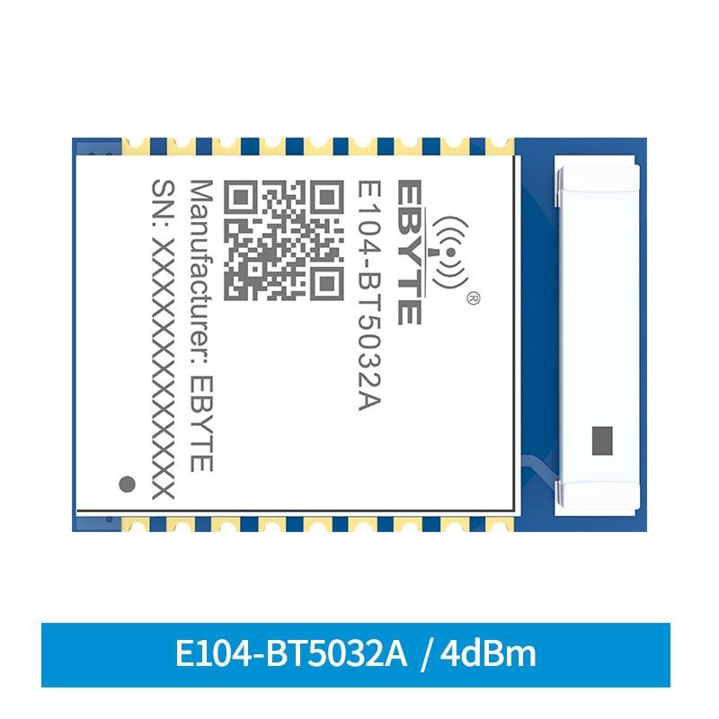 Cojxu BLE 5,0 nRF52832 Bluetooth Modul 4dbm Seriell zu BLE blue tooth SMD E104-BT5032A Wireless transceiver Modul