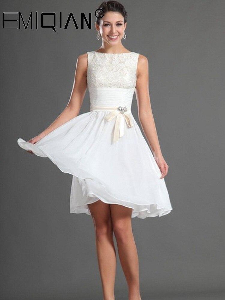 Короткое Выпускное Платье До Колена, простое шифоновое и кружевное коктейльное платье gold case платье до колена