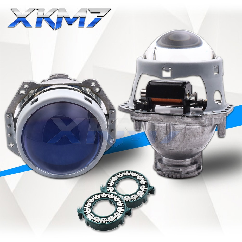 Para hella 3r d2s g5 5 hid xenon projetor bi-xenon farol lentes 3.0 lente azul luzes do carro acessórios retrofit d1s d3s d4s