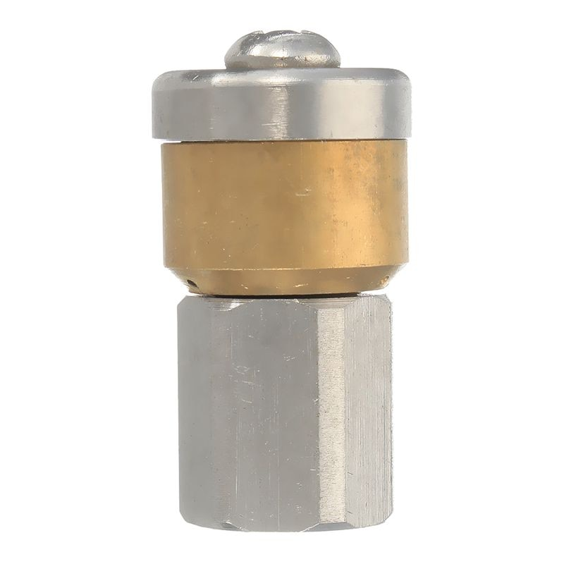 Стальная труба для мойки под давлением, сливная труба для очистки канализации, Вращающаяся насадка 3 Jet 1/8 дюйма, акция F