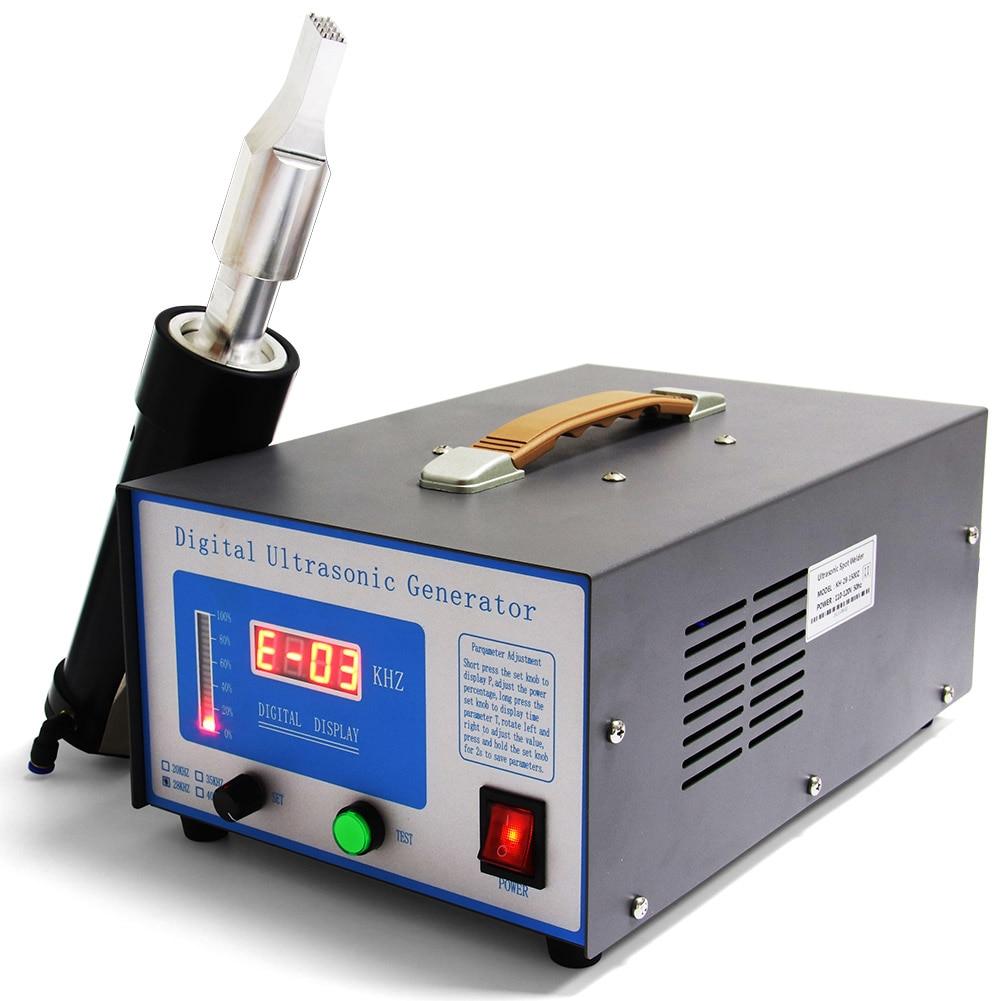 ماكينة لحام البلاستك بالموجات فوق الصوتية 1500 وات ماكينة لحام البلاستك لحام بقع البلاستيك معدات لحام بالموجات فوق الصوتية آلة لحام الهريس