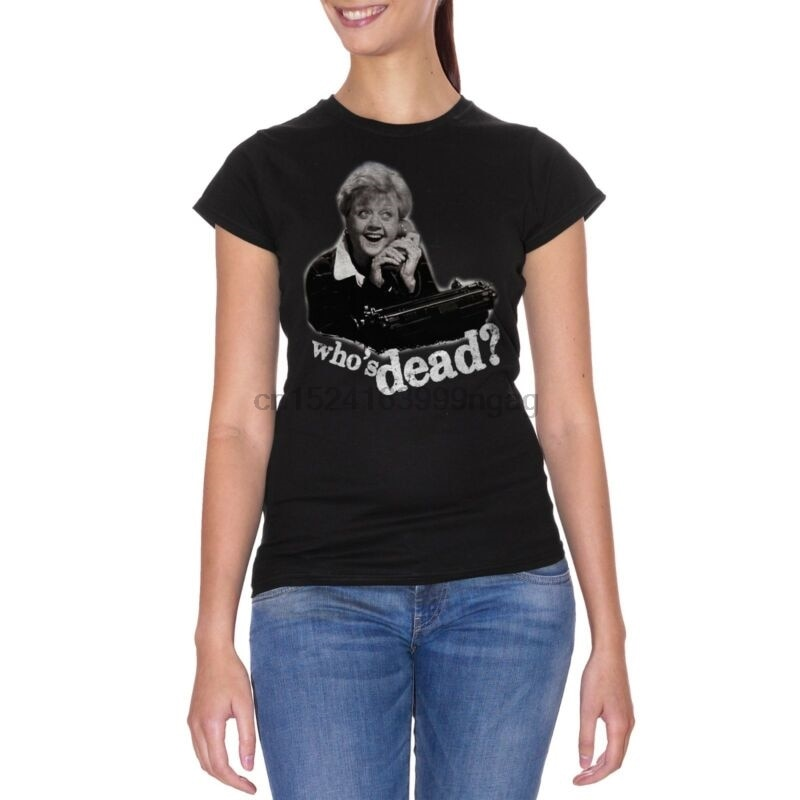 CUC футболка SIGNORA FLETCHER TELEFONO WHO IS DEAD Забавный культовый Винтаж