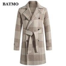 BATMO 2019 nouveauté hiver haute qualité 70% laine trench coat hommes, hommes laine vestes, plus-taille M-3XL 19012
