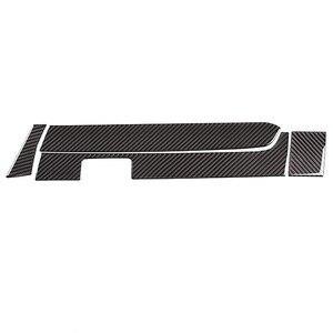 Для Toyota Tacoma 2015-2020, Крышка центральной панели управления приборной панели автомобиля, отделка, перчатки, наклейка из углеродного волокна, аксессуары