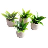 112 scale dollhouse miniatures in pot tree plants garden decor accessory