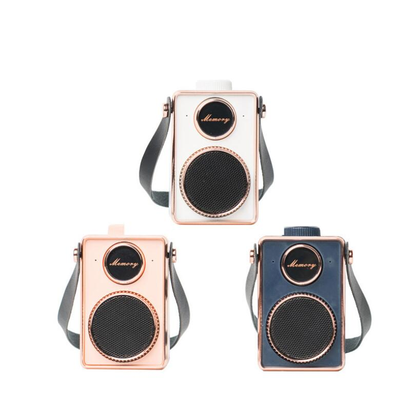 Creative CM3 Mini Era Memory Portable Speaker Gift Cute Fun Retro Bluetooth Outdoor Audio enlarge