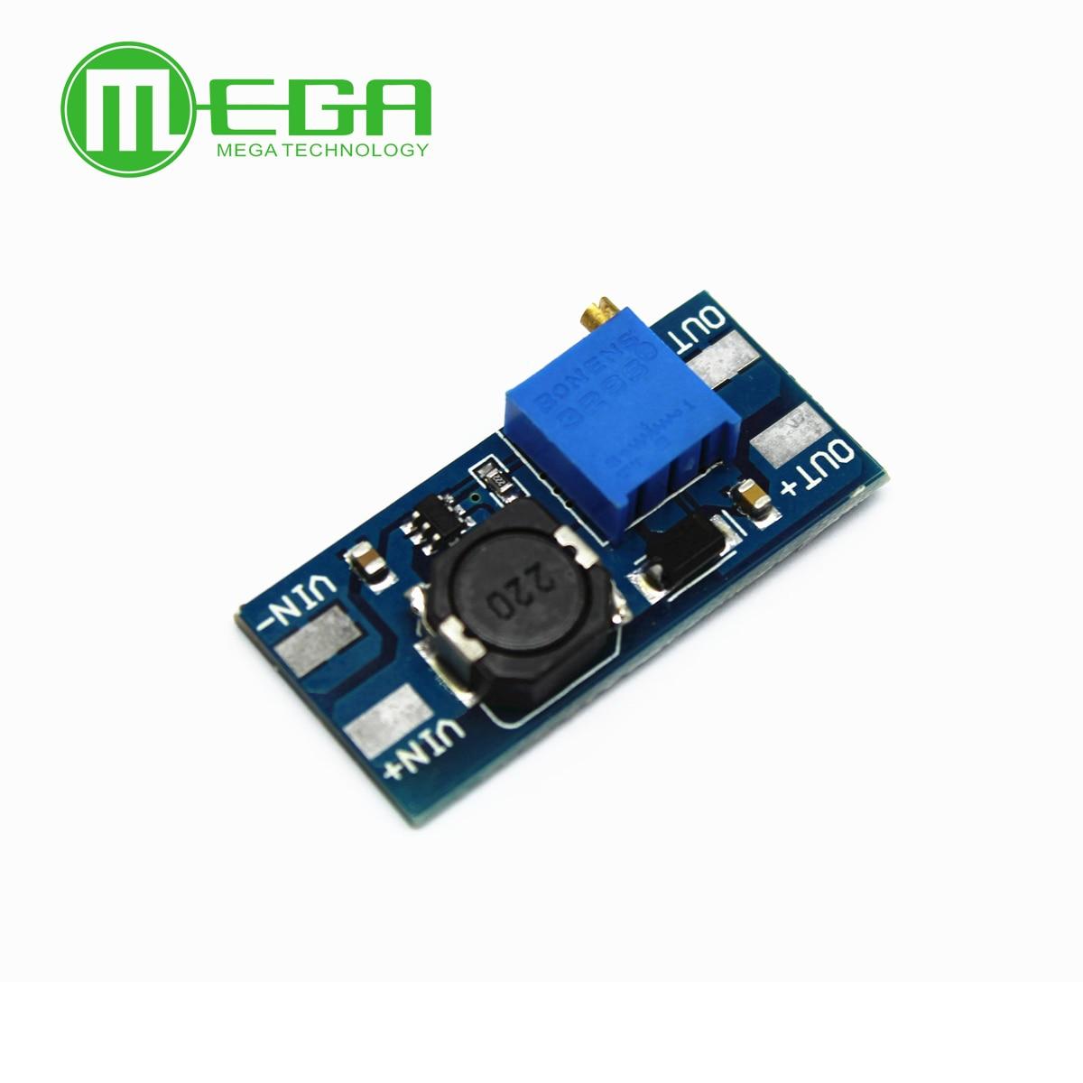MT3608 2A макс. DC-DC Повышающий Модуль питания бустер силовой модуль для Arduino 3-5 в до 5 В/9 В/12 В/24 В