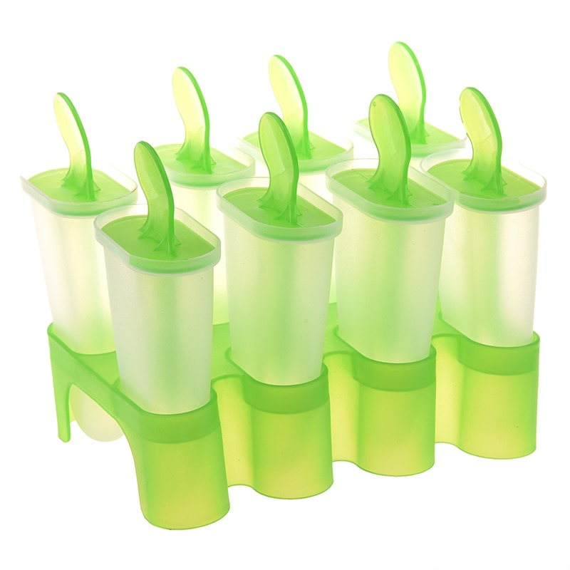 Molde para helado congelado en recipientes HOT-8, molde para polos, molde para polos, bandeja para cocina DIY
