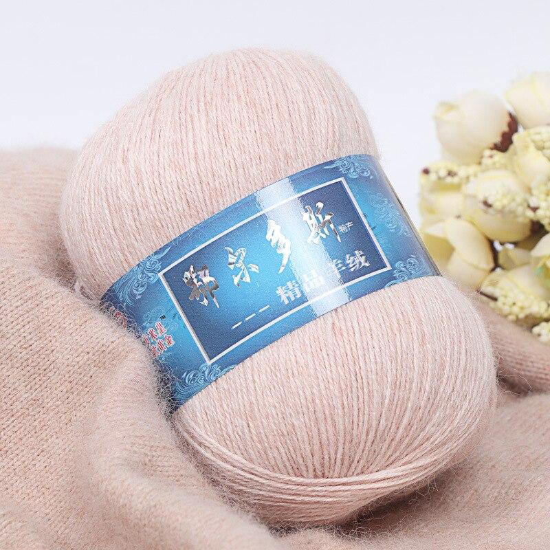 1 шт. = 50 г монгольская кашемировая пряжа ручной вязки, кашемировая пряжа, шерстяная кашемировая вязальная пряжа, шарфик, шерстяная пряжа для ...
