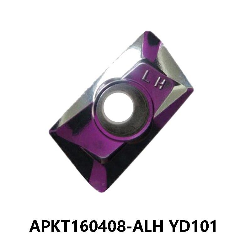 Ferramenta de Torneamento Torno de Corte Original Apkt Torno Fresa Apkt1604 Apkt160408-alh Yd101 160408