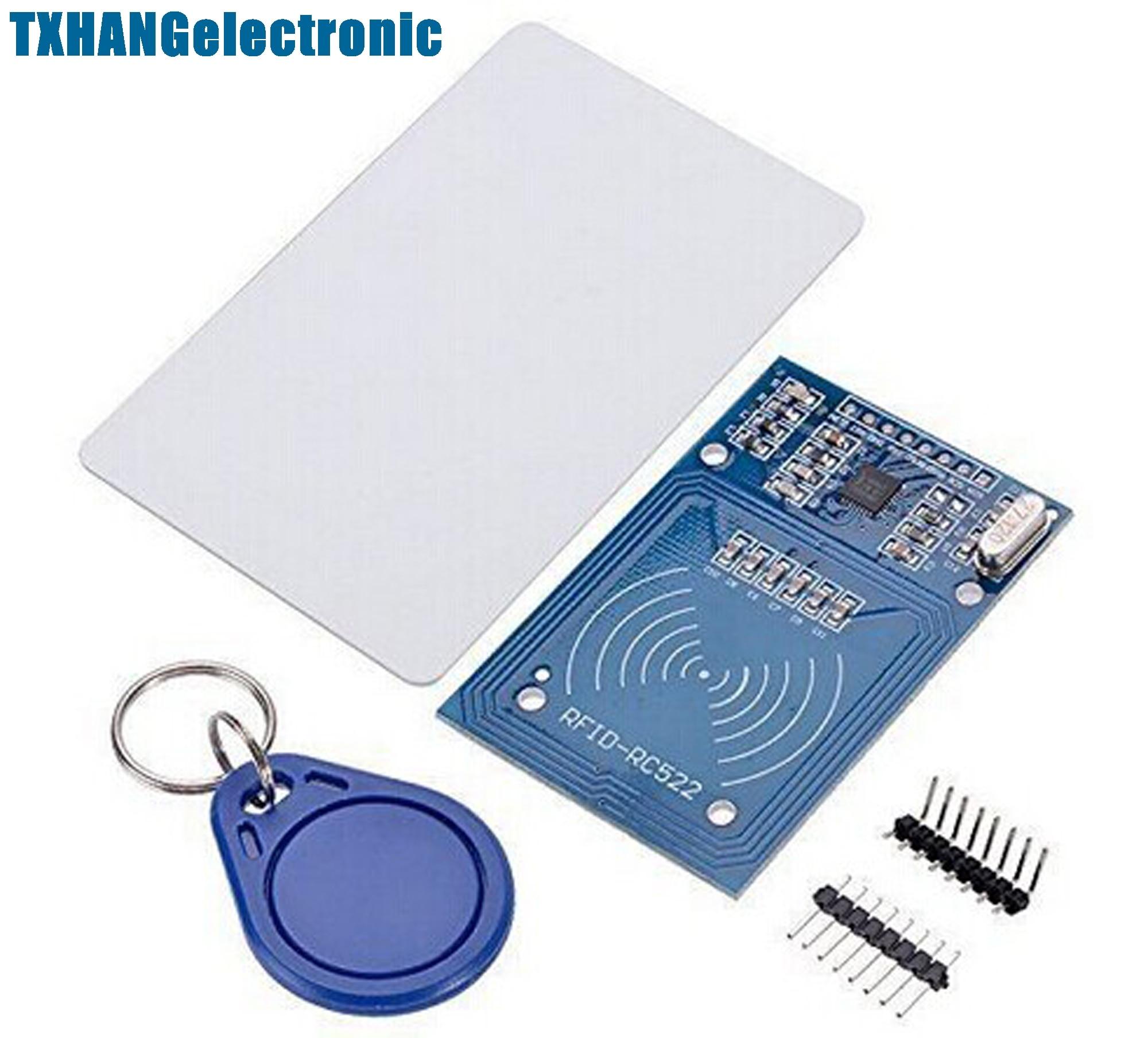 1 Uds MFRC-522 RC522 RFID RF IC Tarjeta de Sensor inductivo lector de tarjetas electrónica condensador de tantalio