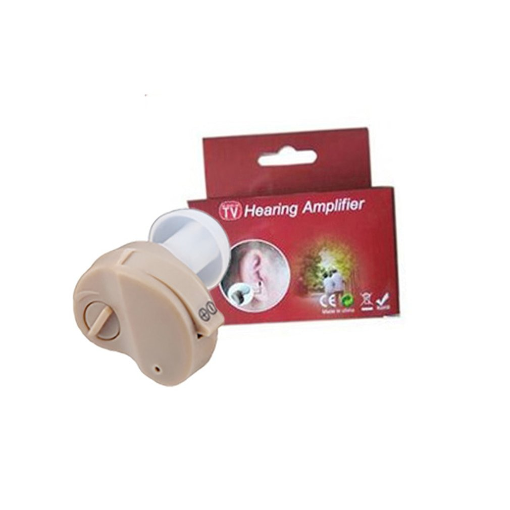 Фото - Миниатюрный слуховой аппарат, усилитель звука, микробеспроводные слуховые аппараты для пожилых людей, лучший невидимый слуховой аппарат д... слуховой аппарат zinbest vhp 220 l1154