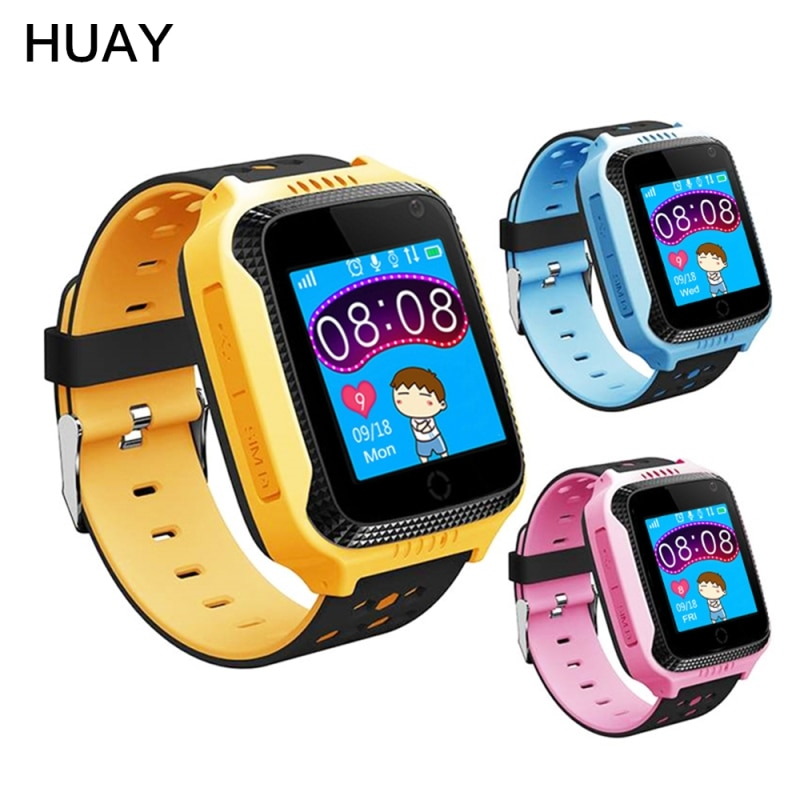 """Kids GPS Tracker Smart Watch Q529 Support Hebrew Flashlight Camera 1.44"""" Touch Screen GPS LBS SOS Call Location Baby Watch Q529"""