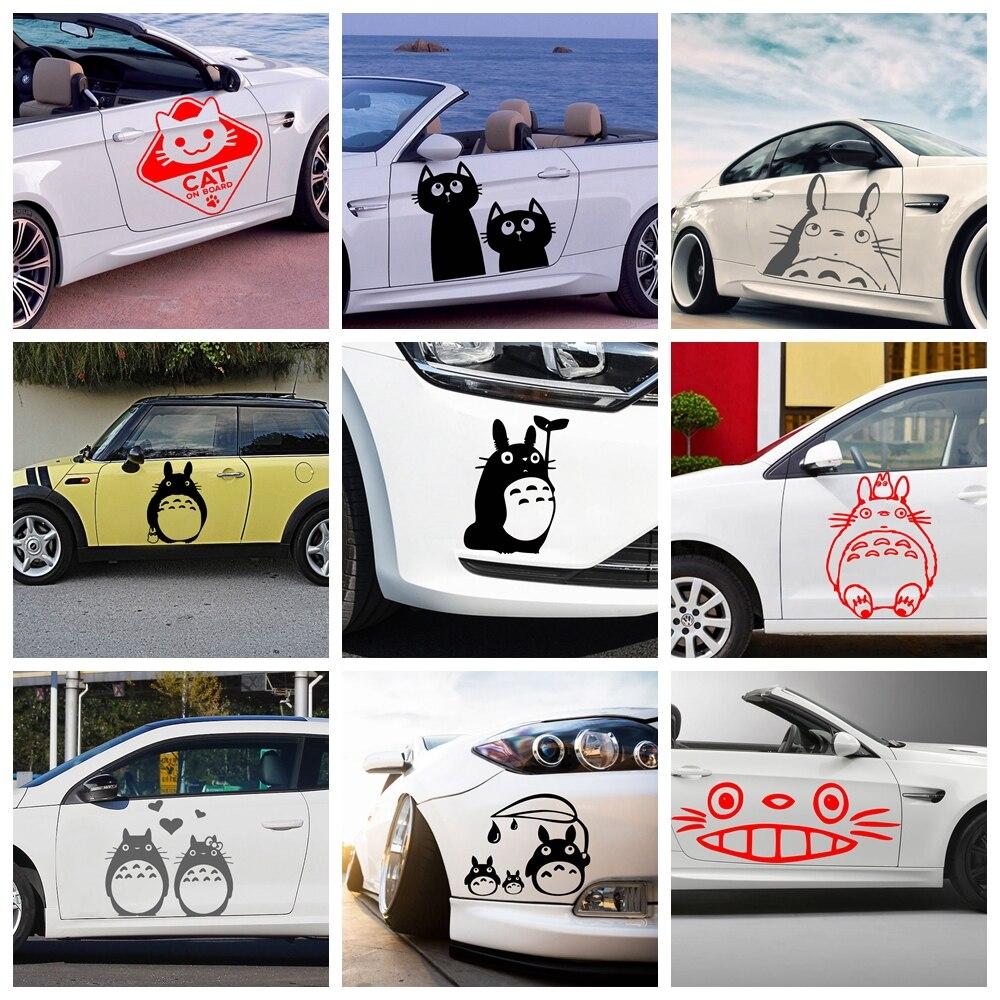 Мультяшные Коты, автомобильная наклейка, автомобильная наклейка s, автомобильная виниловая наклейка, автомобильные аксессуары
