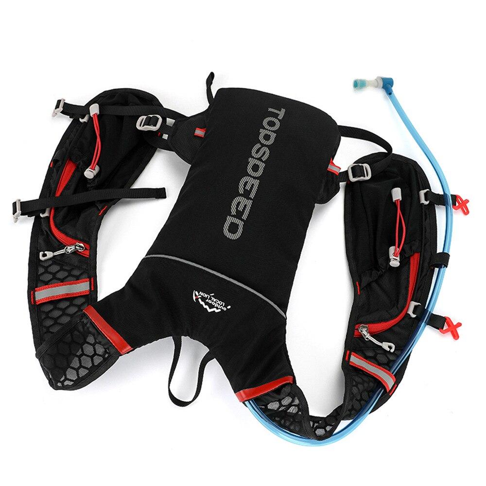 Mochila de hidratación para ciclismo de 5L, bolsa de agua para exteriores, Mochila deportiva para trotar, mochila para correr con bidón bolsa de agua de 2l para senderismo y exterior