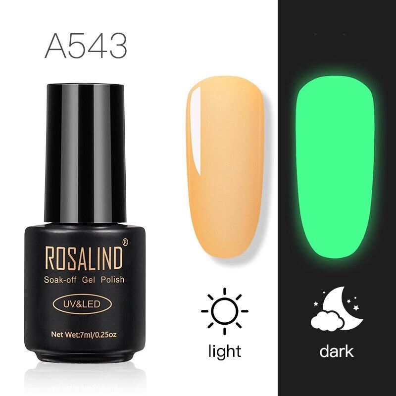 10 Colors Bottleinous Professional New Nail Luminous Glue Nails Special Glue Nail Glue Luminous Glitter Nail Art Tools 7ml TSLM1