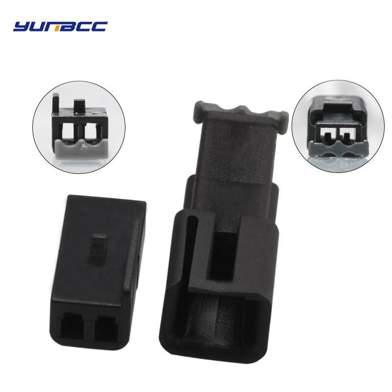 2 набора, 2-контактный разъем для электрического кабеля, проводная розетка для автомобильных двигателей 12047663 12047662