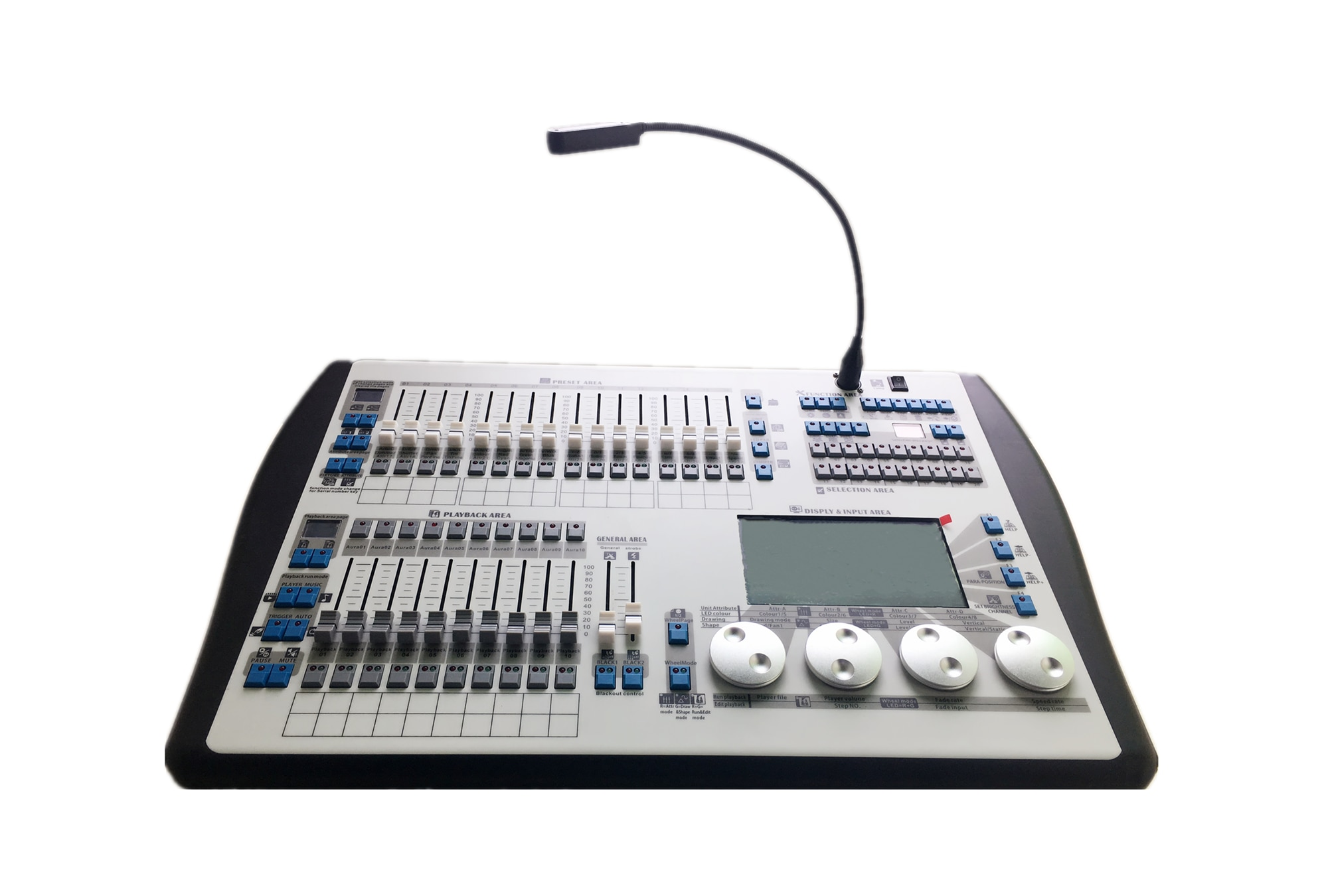 Wholsale stage light controller 1024 hand drawing dmx dj lighting console can custom any shapes for moving head light disco bar