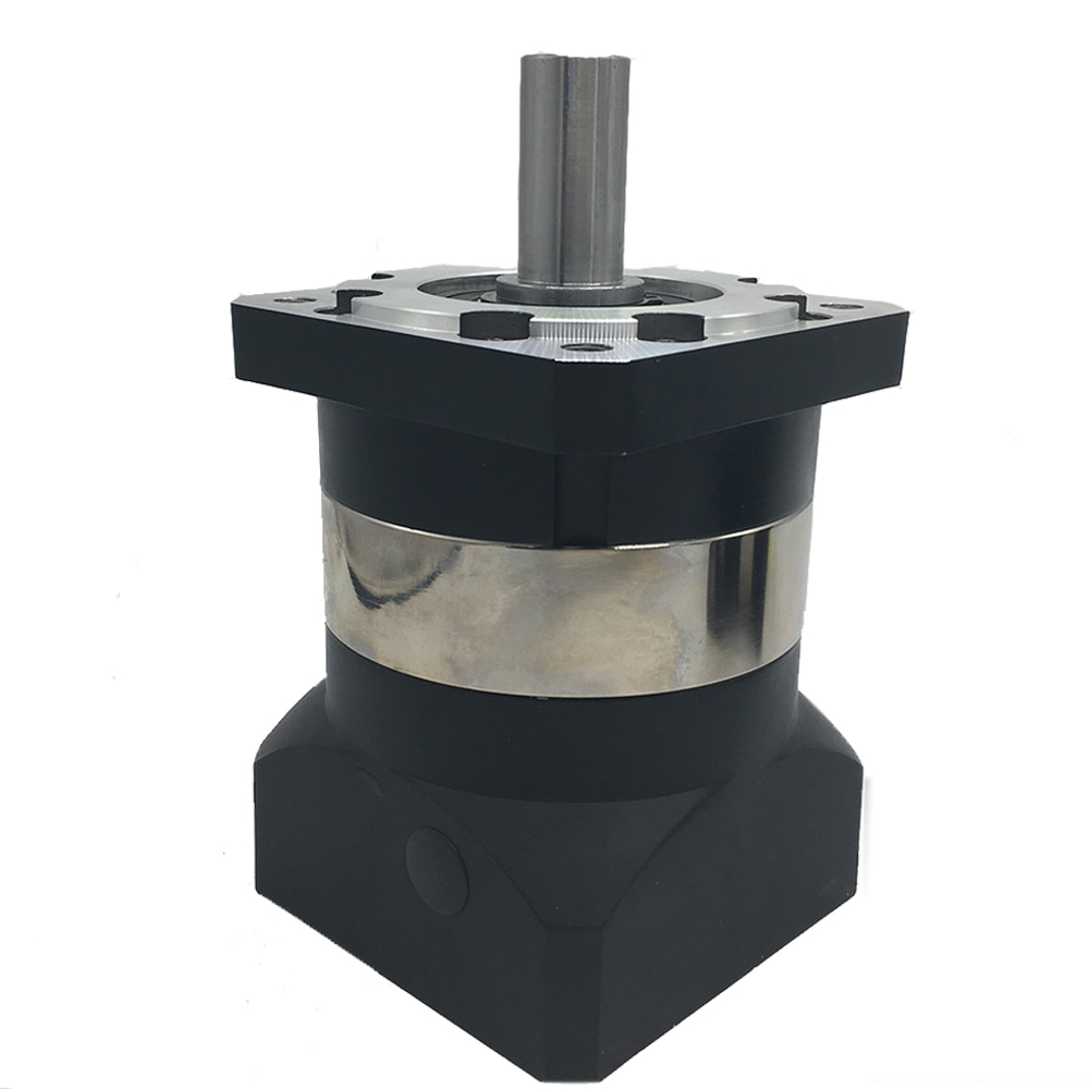 41 relación de velocidad 4 bridas 90mm 7Arcmin reductor planetario 19MM engranaje de eje de entrada reductor para 750W 1 KW Servo Motor CNC