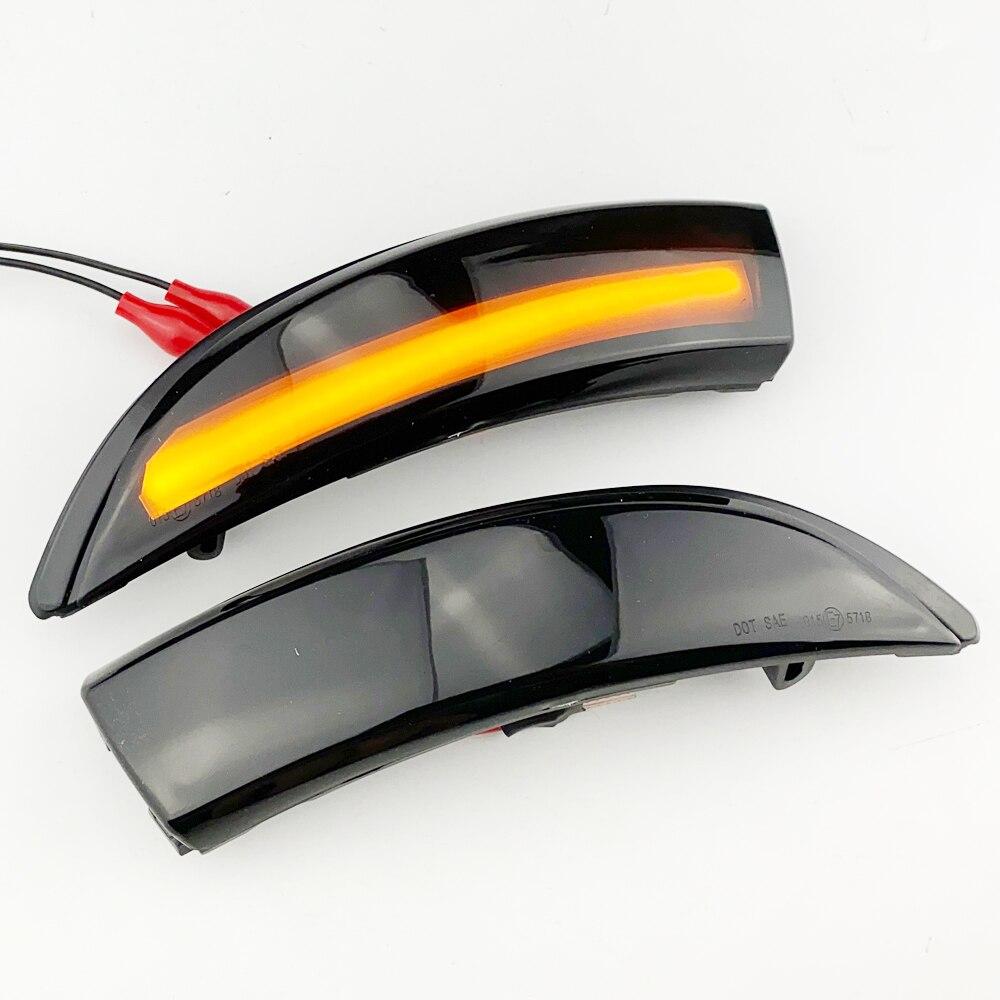 Para Renault Clio IV MK4 Captur J87, luz LED de intermitente dinámica, indicador de Retrovisor lateral, sustituye directamente al Original OEM