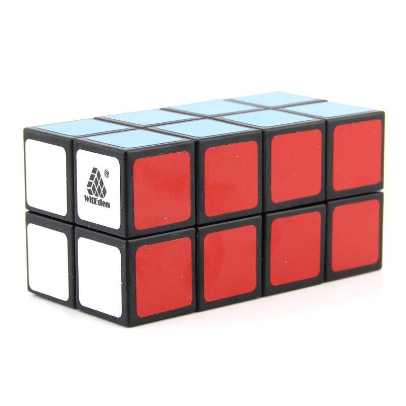 Witeden desigual 2x2x4 camuflagem cubo mágico quebra-cabeça velocidade profissional 224 cubo brinquedos educativos para crianças intelectual