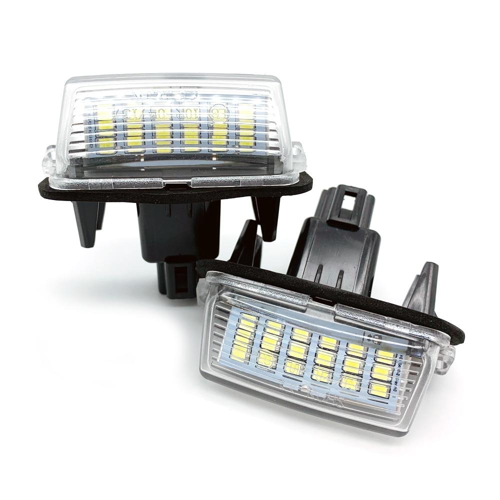 фонарь освещения заднего номера тойота камри 50 Автомобильный светодиодный номерной знак для Toyota Camry светодиодный номер подходит для peugeot ...